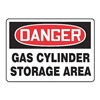 Accuform MCPG003VA Danger Sign, 10 x 14In, R and BK/WHT, AL