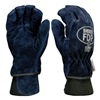 Shelby 5227 M Firefighters Gloves, M, Cowhide Lthr, PR