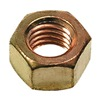 "DrillSpot 0178878-1 1/4""-28 Silicon Bronze Finished Hex Nut, Pack of 1000"
