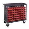 Quantum Storage Systems QRC-7D Bin Cart, 36x18x35-1/2 In., 800 lb. Cap.