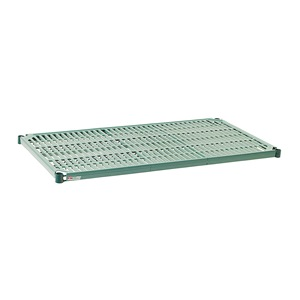 Metro PR2448NK3 Super Erecta Pro seal 3 Epoxy Coated Polymer Standard Open Grid Shelf with Removable Mat 800 lb. Capacity ...