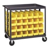 Quantum Storage Systems QRC-4D Bin Cart, 36x24x35-1/2 In., 800 lb. Cap.
