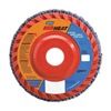 Norton 63642504877 Flap Disc, 4 1/2 In X, 40 Grit, 7/8, TY27