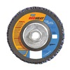 Norton 63642536156 Flap Disc, 4 1/2 In X, 40 Grit, 5/8-11, TY29
