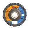 Norton 63642504332 Flap Disc, 4 1/2 In X, 80 Grit, 7/8, TY29