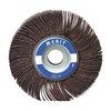 Merit 08834137252 Flap Wheel, 3  Dia, 1  W, Shk 1/4, 120