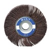 Merit 08834135339 Flap Wheel, 3  Dia, 1  W, Shk 1/4, 240