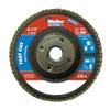Weiler 31351 Vortec Abrasive Flap Disc, Pack of 10