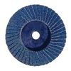 Weiler 50906 Bobcat Abrasive Flap Disc, Pack of 10