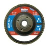 Weiler 31352 Vortec Abrasive Flap Disc-3.5Lbs-4 1/2, Pack of 10
