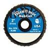 Weiler 50934 Zirconia Alumina Mini Flap Disc, Pack of 10
