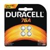 Duracell PX76B4 Battery, 76A, Alkaline, 1.5V, PK4