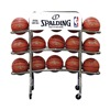 Spalding, Aai 411-602 Backetball Rack, Chrome
