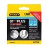 Stanley TRA706TCS Narrow Staple, 27/64, 3/8 In Leg, Pk 1500