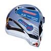 Westward 24Z085 Measuring Tape, 12 ft, ABS Plastic, Chrome