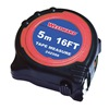 Westward 24Z088 Measuring Tape, 16 Ft, ABS, In/Ft