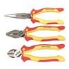 Wiha 32981 Insulated Plier And Cutter Set, 3 Pc