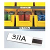 Approved Vendor M21 Label Holder, Magnetic, 1/2 In. x 6 In.