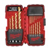 Milwaukee 48-89-1105 Drill Bit Sets, Titanium, 20 Pc