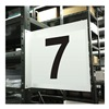 Stranco Inc HPS-2W1412-7 Projecting Aisle Sign, Legend 7