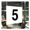 Stranco Inc HPS-FS1212-5 Hanging Aisle Sign, Legend 5