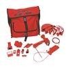 Brady 99688 Portable Lockout Kit, 18, Electrical/Valve