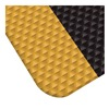 Apache Mills 3913609304X60 Antifatigue Mat, Indstrl, Blk/Ylw, 60x4ft