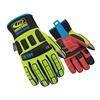 Ringers Gloves 266-09 Glove, Impact Resistant, M, Hi-Vis, Pr