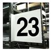 Stranco Inc HPS-2W1412-23 Projecting Aisle Sign, Legend 23