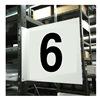 Stranco Inc HPS-2W1412-6 Projecting Aisle Sign, Legend 6