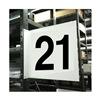 Stranco Inc HPS-2W1412-21 Projecting Aisle Sign, Legend 21