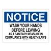 Brady 42729 Personal Hygiene Sign