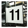 Stranco Inc HPS-2W1412-11 Projecting Aisle Sign, Legend 11