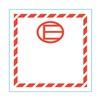 Stranco Inc HMSL-450E-P100 Label, E, 4.5 In x 4.5 In, 100 Labels