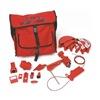 Brady 99686 Portable Lockout Kit, Electrical/Valve, 14
