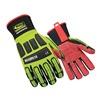 Ringers Gloves 267-09 Glove, Impact Resistant, M, Hi-Vis, Pr