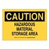 Brady SP470C Prinz B401 10X14 Blk/Yel Cau Hazardous