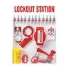 Brady 99697 Lockout Station, Elctrcl/Vlve, 19-1/2 In W