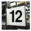 Stranco Inc HPS-2W1412-12 Projecting Aisle Sign, Legend 12