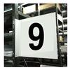 Stranco Inc HPS-2W1412-9 Projecting Aisle Sign, Legend 9