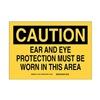 Brady 21834 B401 7X10 EAR & EYE PROTECTION