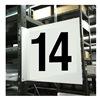 Stranco Inc HPS-2W1412-14 Projecting Aisle Sign, Legend 14