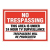 Brady 103851 Security Sign
