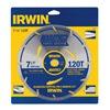 "IRWIN 11830 7-1/4"" 120T Circ Blade"