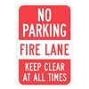 Lyle T1-1067-HI_12x18 Sign, No Parking, Fire Lane, 18 x12 In
