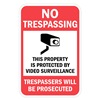 Lyle T1-1074-EG_12x18 Property Sign, No Trespass, 18 x 12 In
