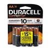 Procter & Gamble/Duracell MN1500B8Z DURA 8PK AA Alk Battery