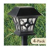 Lumisol Electrical Ltd PL-1094N-4PK FS 4PK Solar Path Light