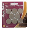 "Magic Sliders L P 63414 16PK 1"" Oat Felt Pad"