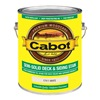 Cabot 17411-07 Gal Wht Sol Deck Stain, Pack of 4